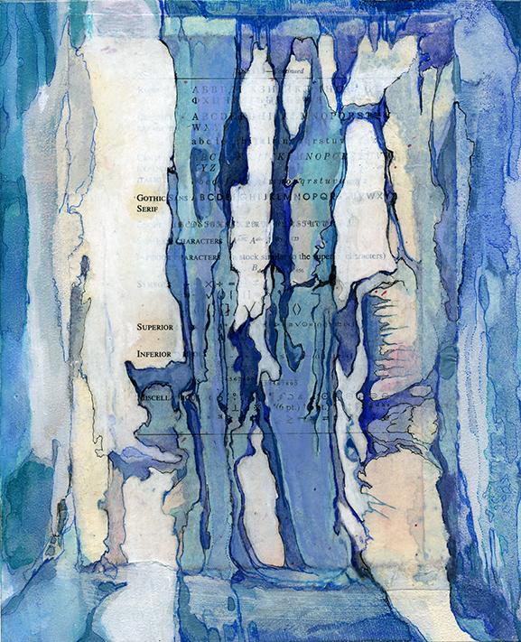Colonization: Font Glaciers painting