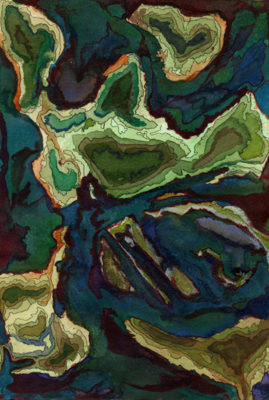 Cantref Gwaelod painting