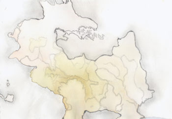 Dragon Island painting