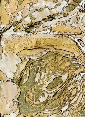 Gold Rush Territories 2 painting